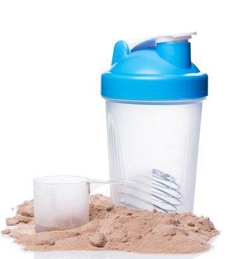 Des acides aminés dans la poudre de protéines